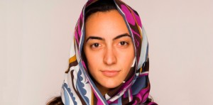 Young adult Muslim woman in a hijab