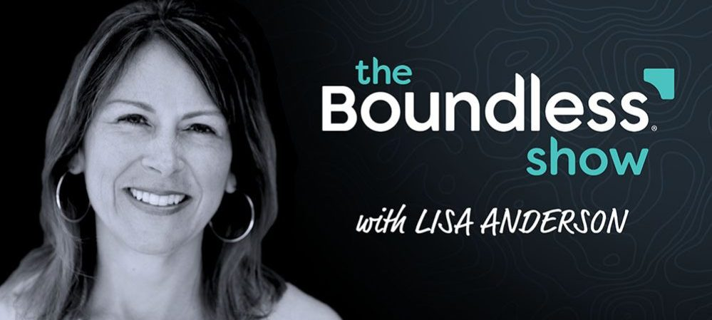 The Boundless Show Cover Image With Lisa Anderson